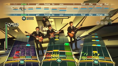 "The Beatles Rockband ""hard dayds night"""
