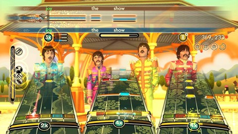 The Beatles Rockband Sgt. Pepper's Lonely Hearts Club Band