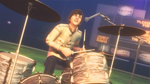 The Beatles Rockband Shea Stadium