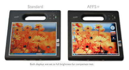 Motion  Tablet PC Display comparison