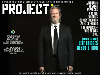 Virgin's Project Magazine for iPad