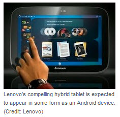 Lenovo U1 Tablet PC