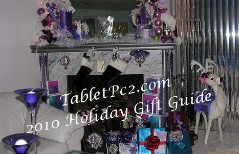 TabletPc2.com 2010 list for Santa Holiday Gift Guide