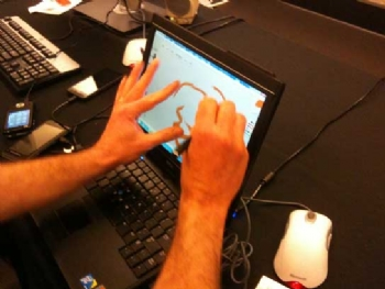 Pen & Touch Input on tablet pc