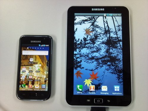 Samsung Galaxy Tab tablet pc