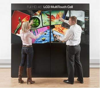 Multi touch display