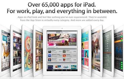 65,000 apps for iPad