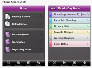 microsoft OneNote Mobile for iPhone and iPad
