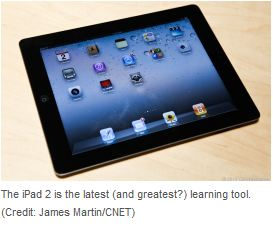 iPad as a learning tool