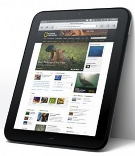 Hp Touuchpad Tablet