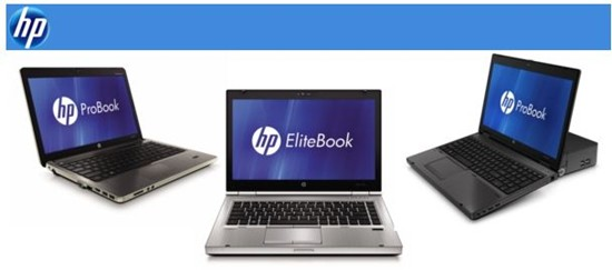 HP Unveils New Business Notebooks
