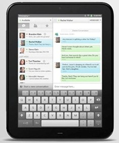 HP TouchPad Tablet Keyboard