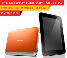 Lenovo IdeaPad P1 Switch from work to play on the go