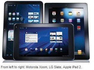 Xoom Tablet, LG Slate, Apple iPad2