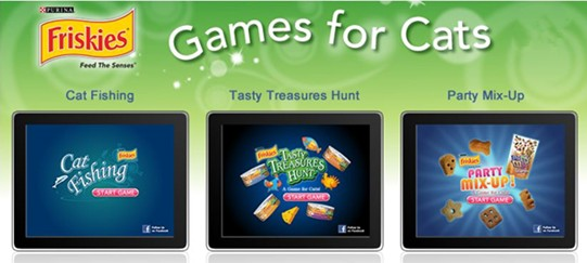 Friskies ipad games for cats