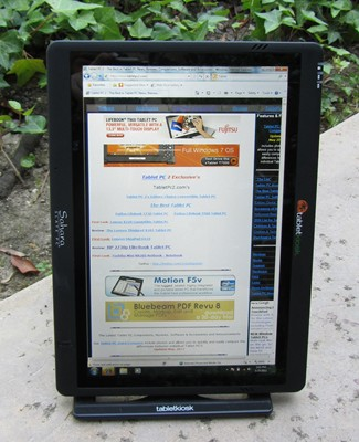 Tabletpc2.com on the Sahara i500 Tablet PC