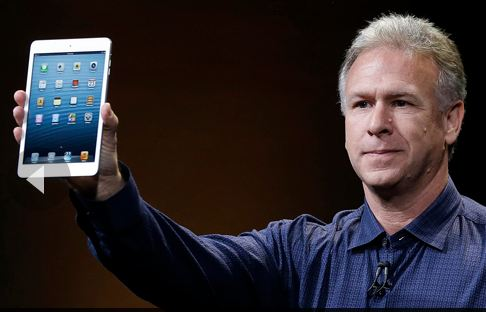 Apples Tim Cook unveils the iPad mini