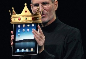Steve Jobs iPad King