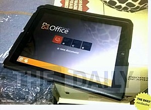 Microsoft Office iPad app