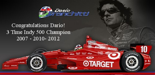 Dario Franchitti 2012 Indy 500 Champion