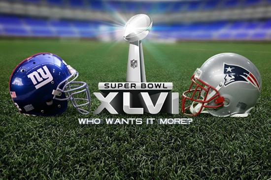 Super Bowl 2012 - Giants vs Patriots