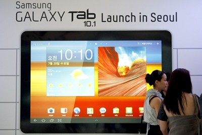 Samsung Galaxy Tab 10.1 Launch
