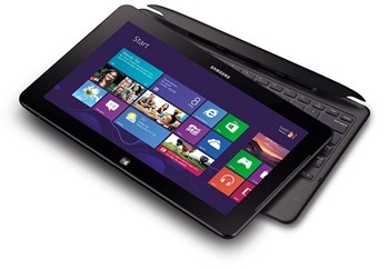 Samsung Tablet withWindows 8 Start button