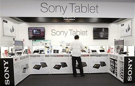 Sony Tablet Display