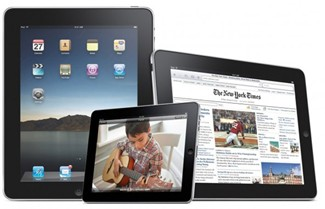 iPad in three sizes