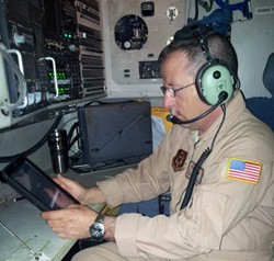 iPad in use by the Air force