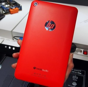 hp slate tablet red