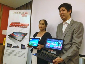 Lenovo Helix and Tablet 2