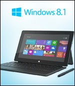 SUrface 2 tablet Windows 8.1