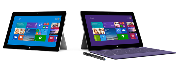 Surface 2 and Surface 2 Pro
