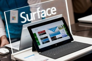 Surface Pro on Display