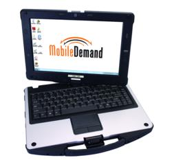 MobileDemand xTablet C1300 Convertible Rugged Tablet PC