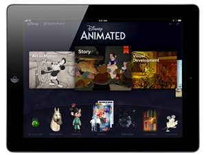 Disney Animated' iPad App