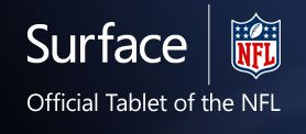 Surface Official Tablet of the NFL