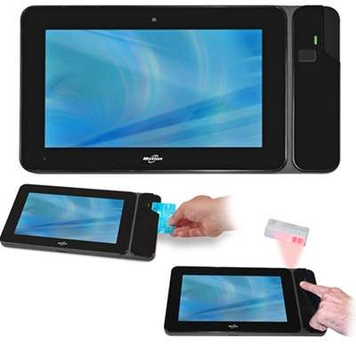 Motion CL910 Tablet PC with credit card reader