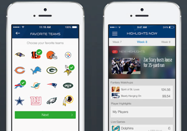 NFL Now App for i phone