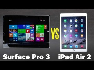 Microsoft Surface Pro 3 vs iPad Air 2