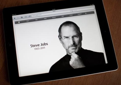 Steve Jobs on iPad
