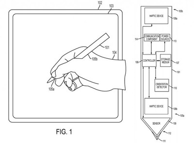 Apple develops tablet stylus