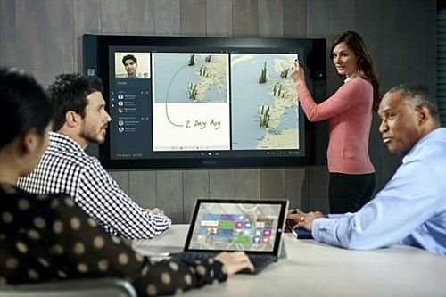 "Microsoft 55- and 84-inch Surface ""Hub"""