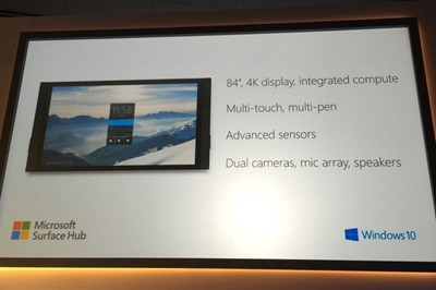 Micrisoft Surface Hub