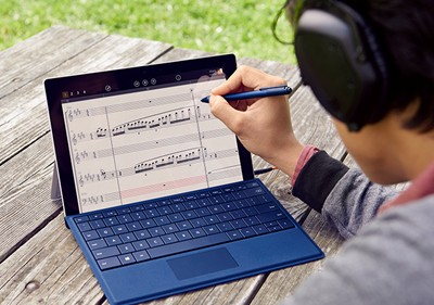 Surface 3 for writing music