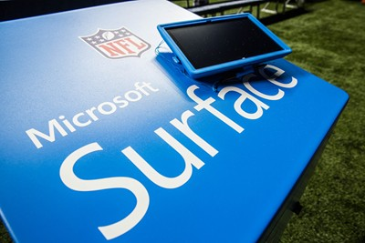 Microsoft Surface for the NFL