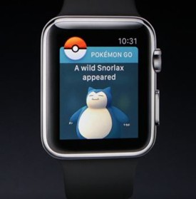 Pokemon Go on iWatch