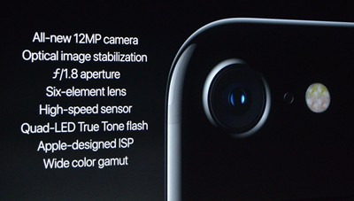 iPhone 7 camera features