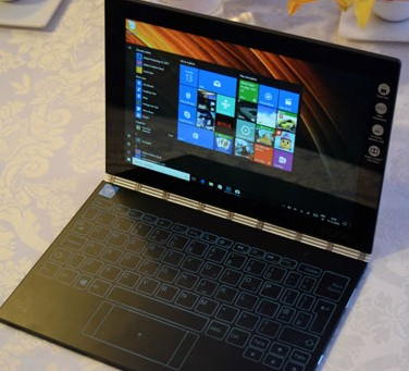 Lenovo's Yoga Book